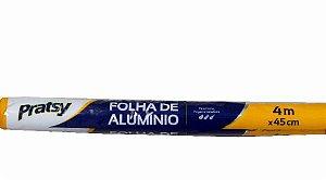 Papel Aluminio Pratsy 45X4M