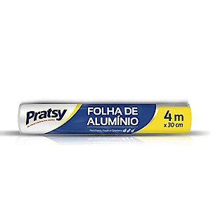 Papel de Alumínio Pratsy  30cm