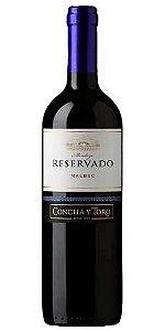 Vinho Reservado Concha Y Toro Malbec 750ml