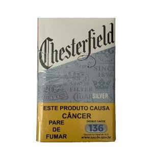 Cigarro Chesterfield Silver