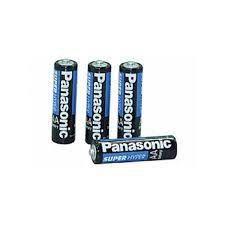 Pilhas Panasonic Aa Tubo Com 4 Unidades