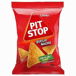 Tortilha Chips De Milho Queijo Nacho Marilan Pit Stop Pacote 45g