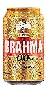 Cerveja Brahma Zero Lata 350ml