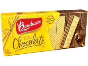 Wafer Sabor Chocolate Bauducco 140g