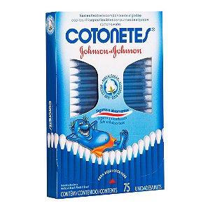 Cotonetes Johnson & Johnson 75 unid