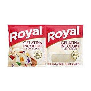 Gelatina Royal Sem Sabor 24g