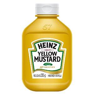 Mostarda Yellow Heinz 255g