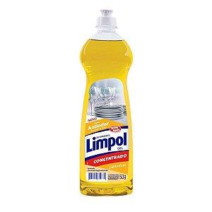 Lava Louças Detergente Limpol Concentrado Calêndula (gel) 511g