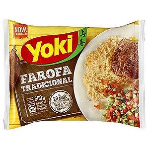 Farofa Tradicional Yoki 500g