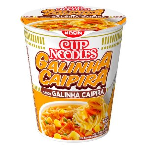Cup Noodles Nissin Sabor Galinha Caipira 69g