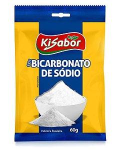 Bicarbonato de Sódio Kisabor 60g