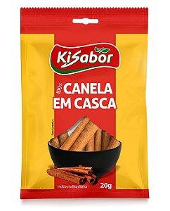 Canela em Casca 100% Kisabor 20g