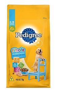 Ração para Cachorro Filhote Crescimento Saudável - Pedigree 1 Kg