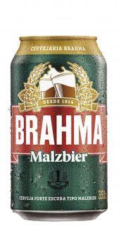 Cerveja Malzbier Brahma 350ml Lata