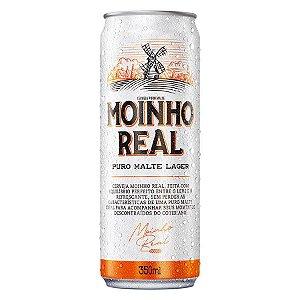 Cerveja Moinho Real Puro Malte 350ml Lata