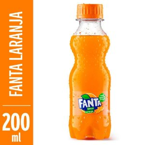 Refrigerante Fanta Laranja 200ml