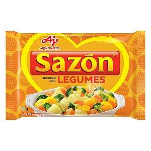Tempero Pronto Para Legumes  Sazón 60g com 12 env. de 5g cada