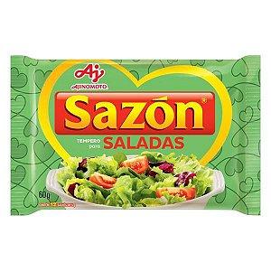 Tempero Pronto Para Salada Sazón 60g com 12 env. de 5g cada