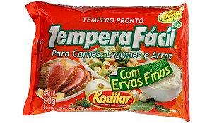 Tempero Pronto Tempera Fácil para Carnes, Legumes e Arroz com Ervas Finas - Kodilar 60g com 12 env. de 5g cada
