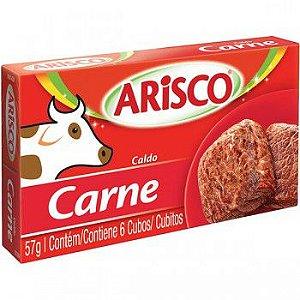 Caldo Arisco Carne 6 Cubos 57g