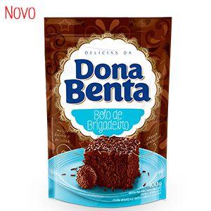 Mistura de Bolo Sabor Brigadeiro Dona Benta 450g