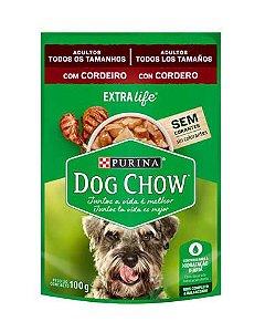 Sachê Sabor Cordeiro ao Molho Dog Chow Purina 100g