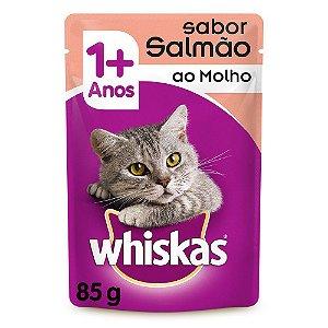 Sachê Sabor Salmão ao Molho Whiskas 85g