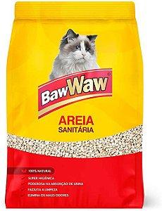 Areia Sanitária Para Gatos BawWaw 4kg
