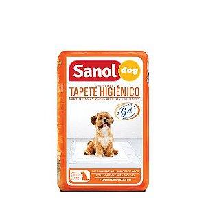Tapetes Higiênicos Sanol Dog 7 Unidades 60 cm x 80 cm