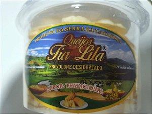 Queijo Tipo Provolone Desidratado sabor Tradicional Tia Lila 170g