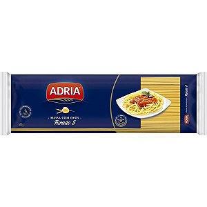 Massa para Macarrão com Ovos Adria Espaguete Furado n°5 500g