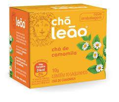 Chá de Camomila Leão 10g com 10 Saquinhos