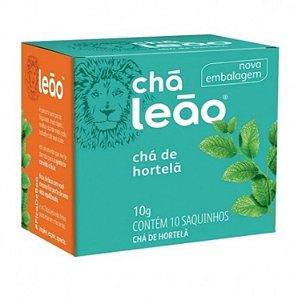 Chá de Hortelã Leão 10g com 10 Saquinhos