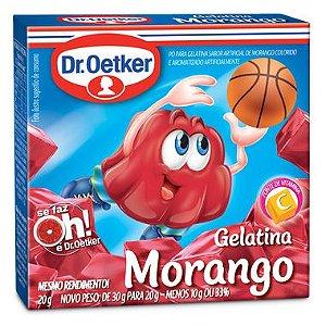 Gelatina Dr. Oetker sabor Morango 20g