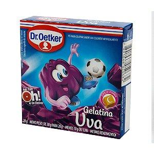 Gelatina Dr. Oetker sabor Uva 20g
