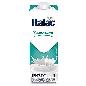 Leite Desnatado Italac (Leite UHT Desnatado) 1 Litro