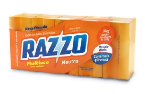 Sabão em Barra Neutro Razzo 1kg