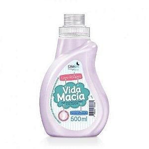 Lava Roupas Liquido Vida Macia Hipoalergênico 500ml