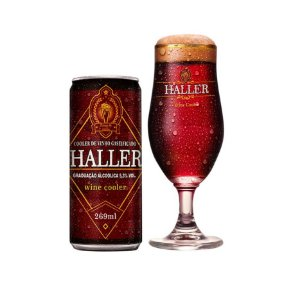 Cooler de Vinho Haller Wine Cooler 269ml Lata