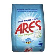 Sabão em pó Ares Max Limpeza 1kg