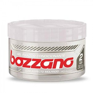Gel Fixador Condicionante Bozzano com Aspecto de Molhado sem Álcool 300g