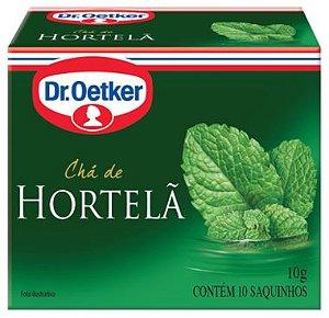 Chá de Hortelã Dr. Oetker 10g com 10 Saquinhos