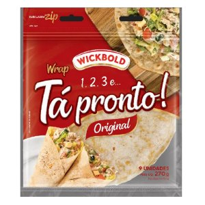 PãoTortilha Original Wickbold 270g