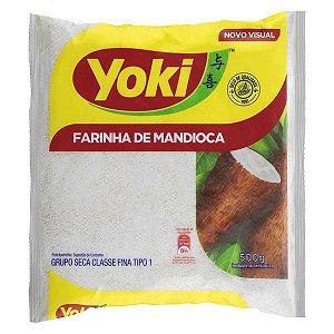 Farinha De Mandioca   Yoki 500g