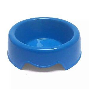 Comedouro Plástico N°1 Azul 300ml São Benedito