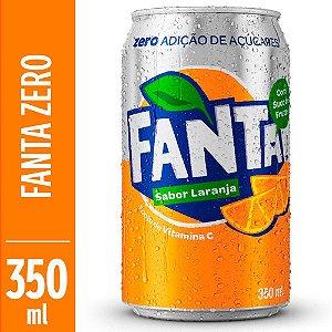 Refrigerante Fanta Laranja Sem Açúcar 350ml
