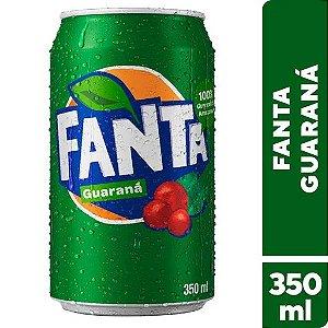 Refrigerante Fanta Guaraná 350ml