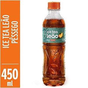 Chá Leão Ice tea Pêssego 450ml