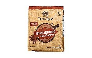 Achocolatado 40% Cacau Dona Raiz 200g