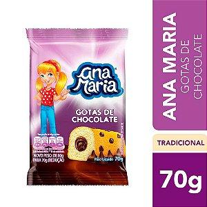 Bolinho Ana Maria Gotas De Chocolate  70g
